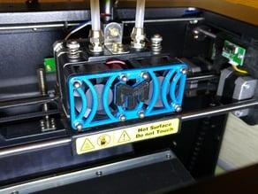 Malyan M180 fan grid / protector with logo
