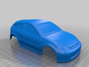 XMODS Ford Focus SVT Body Shell