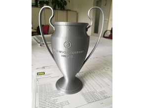 UEFA Champions League - Trophy (+Team Logos)