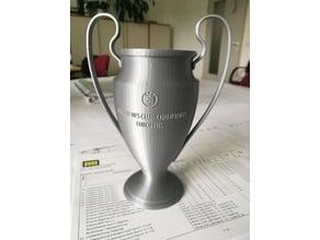 UEFA Champions League - Trophy (+Team Logos)