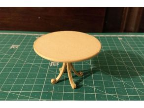 Doll House Round Table