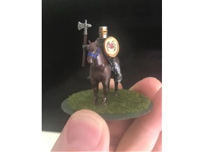 28mm Knight of Serbia Miniature - Zombie Hunter