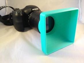Square Camera Sun Lens Cap - Generic