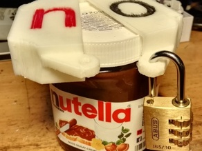 Nutella cap lock