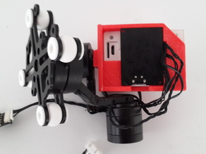 GL-3X 3 Axis Brushless Gimbal Modified For Xiaomi Yi