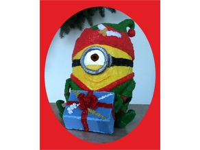 3d pen: Christmas Minion elf