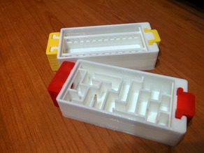 Male and Female stoppers for modular formicarium (Caswal model)