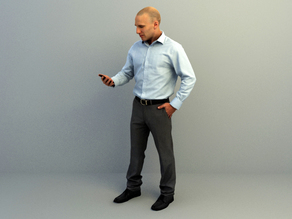 character 6 3dscan