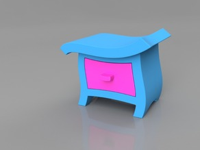 Wonkey Bedside Table