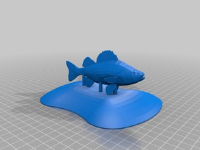 Flying fish cover for Teal Drone contest