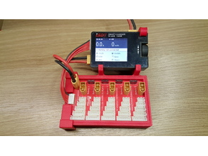 ISDT SC-608+Parallel Charging Board holder