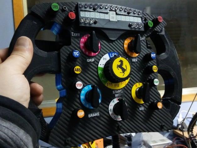 Ferrari f1 addon thrustmaster