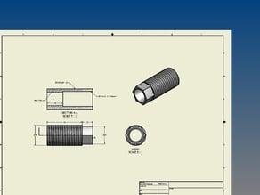 cheap makerbot MIG contact mk5/6 nozzle
