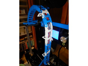 Anet A6 Cable Chain Filament Guide