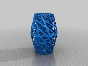 Art Vase 3 with honeycomb inner