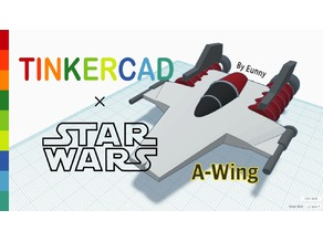Simple A wing with Tinkercad