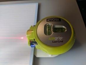 Laser t-square base for Ryobi AIRgrip Laser Level