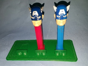 3 Pez Display stand base