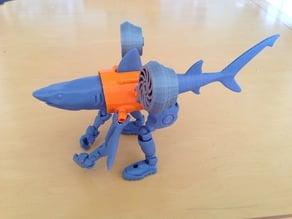 Robo Shark exoskeleton