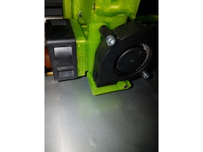 E3D fan with integrated layer-fan