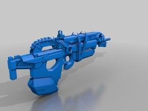 Destiny Exotic Pulse Rifle Bad Juju 1:1 Scale