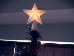 Desktop Christmas Tree Star Topper