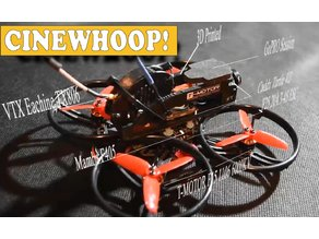 Cinewhoop Et125 2.5/2.8 inch prop for Gopro or Caddx Turtle