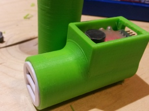 Power bank from spare RC battery