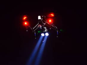 Inspire 1 Dual Searchlight mount