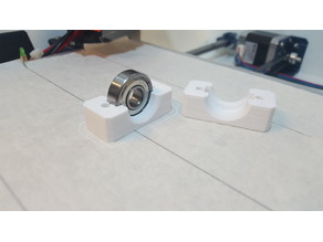 Bearing block diameter 28mm x 8mm. hole 10mm