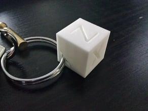 Calibration Cube Keychain