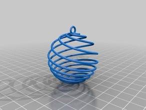 4 spiralsball christmas