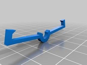 3 Inch Peg Board Lock for Wall Control