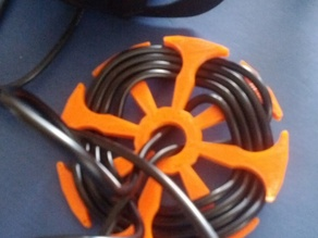 Headphone cable wrap