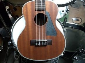 Les paul style ukulele pickguard