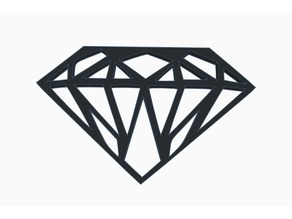 Bold Diamond Wall Art