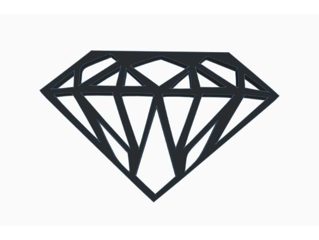 Bold Diamond Wall Art by dannyw281 - Thingiverse