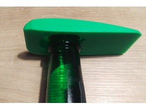 Airfoil shaped bottle opener (NACA2412/Cessna)