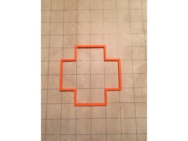 10 foot spell/blast radius template by dge616 - Thingiverse