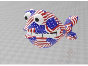 american dad fish  stars and stripes colorprintable