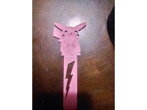 bookmark pikachu