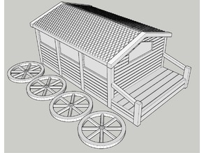 D&D Cart 28mm scale