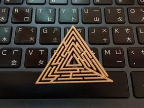 Maze triangle generator