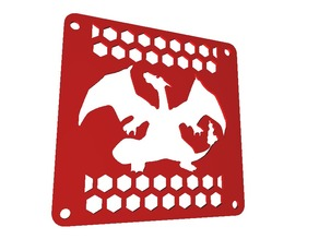 Charizard 120mm Fan Cover