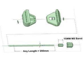 M8 Easy Adjust Clamp