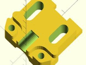 "Makerfarm i3v 10"" Y-axis belt clamp"