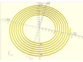 Extended Archimedean Spiral Module