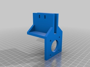 Geeetech I3 pro B extruder support for Bowden
