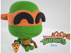 Michelangelo Ninja Turtle Figurine - by Objoy Creation