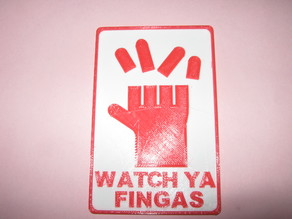 Watch Ya Fingas, remix